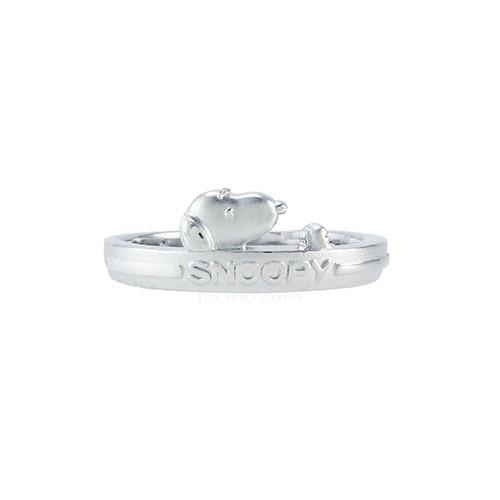 史努比純銀戒指簡約的外型讓你佩戴起來也能為整體造型加分