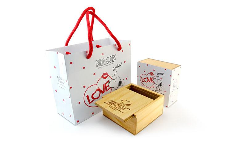 史努比飾品包裝盒