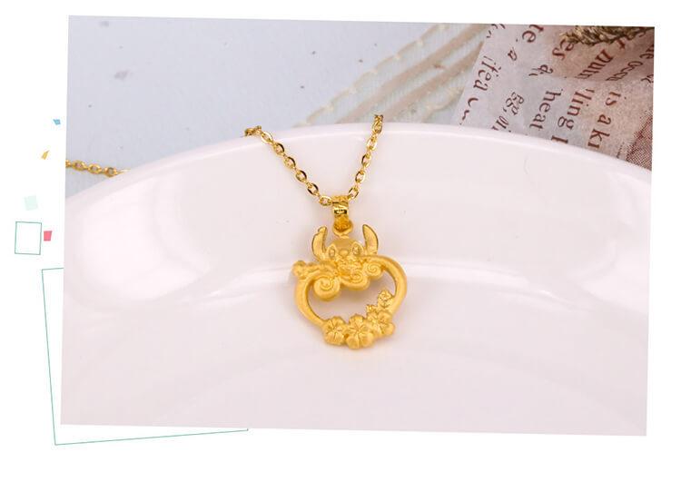 星際寶貝史迪奇黃金飾品可愛與時尚兼具